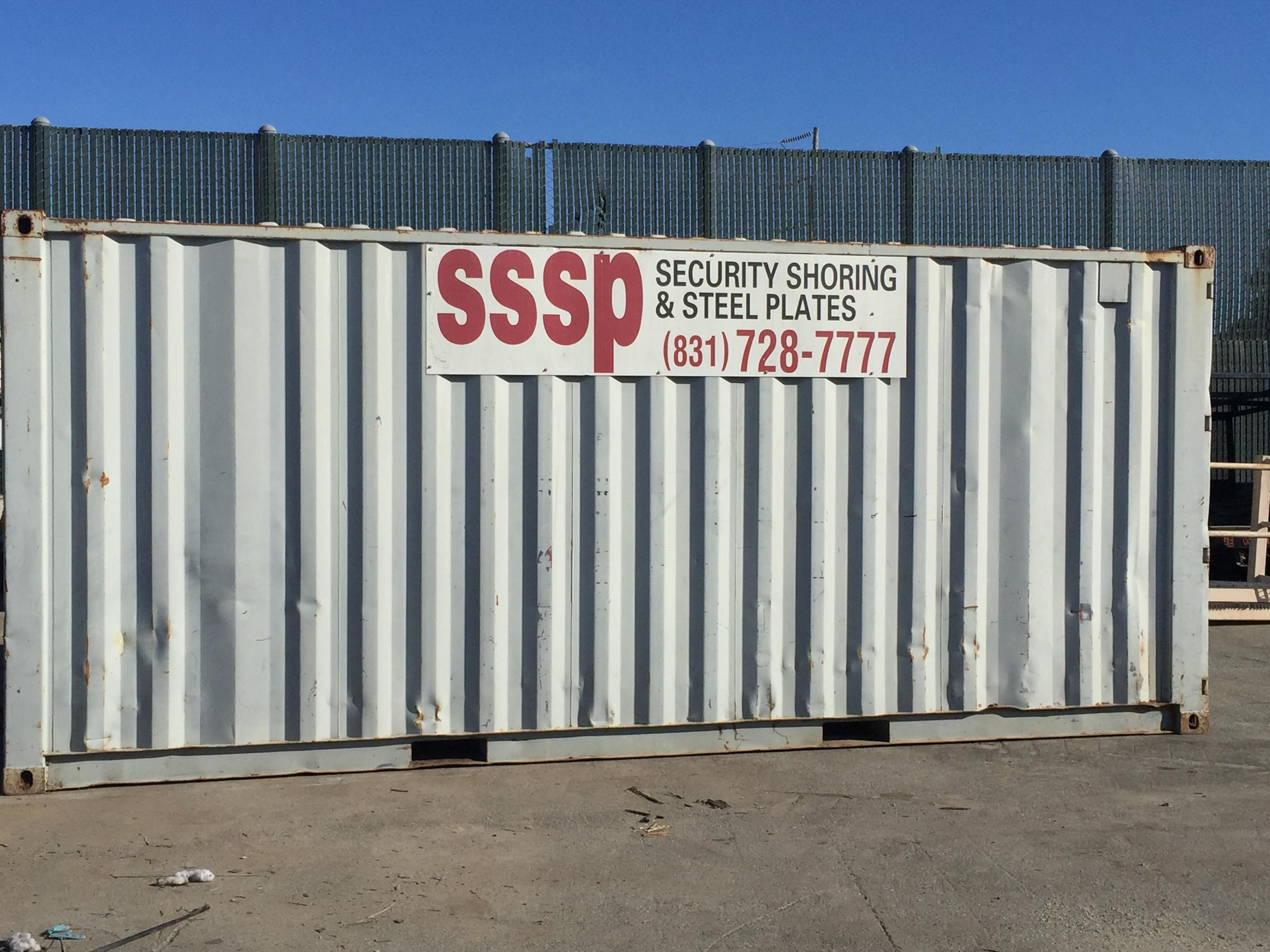 Storage Containers Monterey & Santa Cruz CA